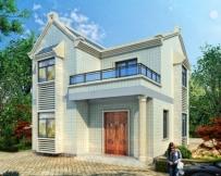 永云别墅AT273二层精致力农村小型别墅全套施工图纸9.2mx11.2m
