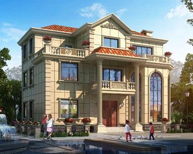 永云别墅AT276三层豪华楼中楼复式别墅建筑设计图纸14.7mx12m