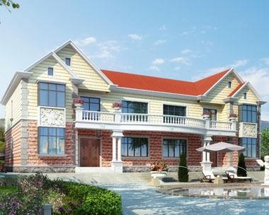 永云别墅AT219二层双拼简欧别墅设计全套施工图纸24m×11.8m