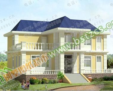 [永云别墅]1788号二层现代别墅带露台全套施工设计图纸14m×12m
