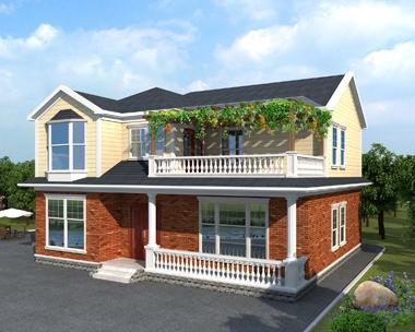 永云别墅AT1702定制设计二层优雅别墅建筑施工图纸13mx11.9m