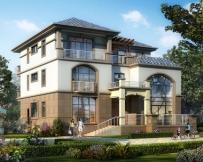 永云别墅AT1731欧亚风格高档复式楼别墅全套设计图纸16.3mx15m