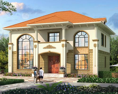 简洁大气/特殊地形/底框结构/二层别墅定制案例欣赏