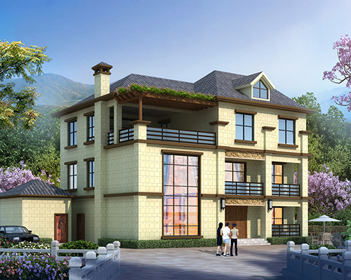 【改造设计】浏阳黎先生老房扩建加外装改造设计案例