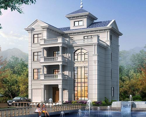 福建杨总四层欧式/漂亮旋梯/带观景炮楼别墅定制案例